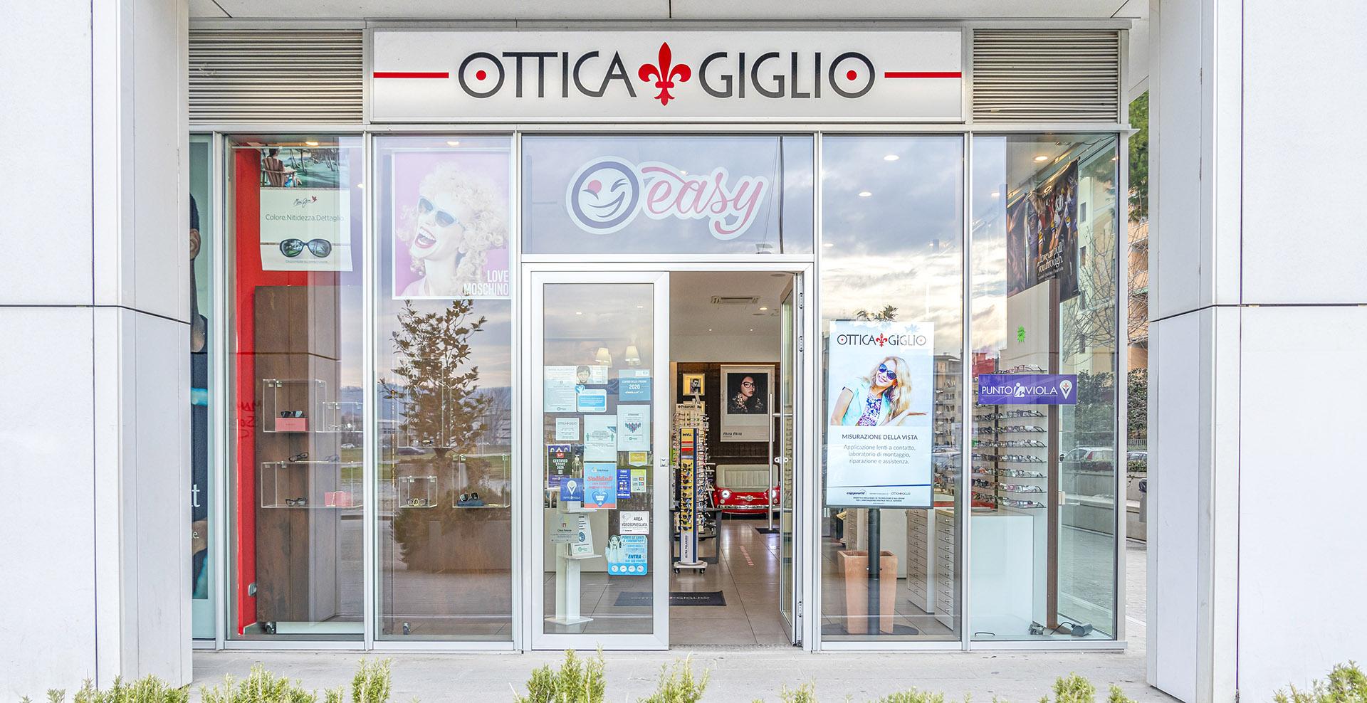 """OTTICA GIGLIO EASY • GALLERIA """"LA MASCHERA"""""""
